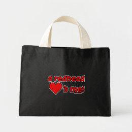Redhead Loves Me Mini Tote Bag