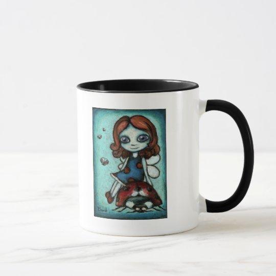 Redhead Lucy - ladybug fairy Mug