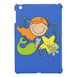 Redhead Mermaid Case For The iPad Mini