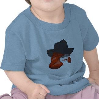 Redhead misterioso camiseta