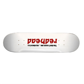 Redhead Niece Skateboard Decks