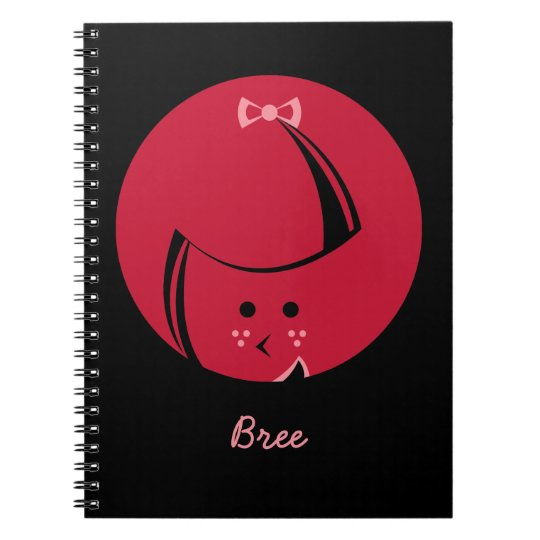 Redhead Notebook CUSTOMIZABLE