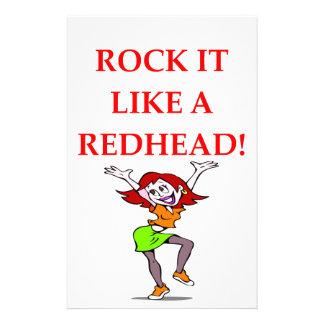 redhead  papeleria