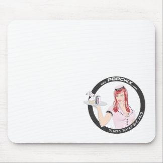 Redhead PopChiX Girl Mousepad