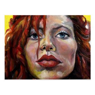 Redhead, un autorretrato postal