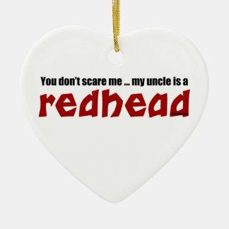 Redhead Uncle Ceramic Ornament