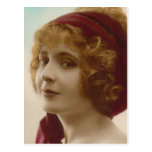 """Redhead"" Vintage Photograph Post Cards"
