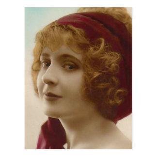 """Redhead"" Vintage Photograph Postcard"