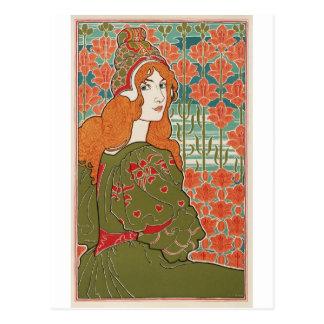 Redheaded Maiden Postcard
