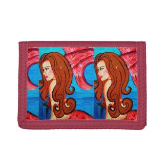 redheaded mermaid wallet