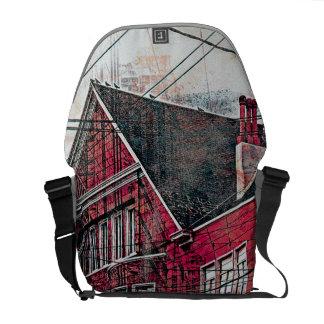RedHeaded Victorians Corner Mission District sfc Courier Bag