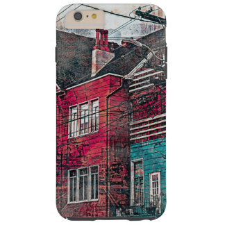RedHeaded Victorians Corner Mission District sfc Tough iPhone 6 Plus Case