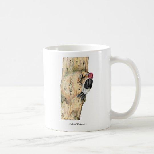 Redheaded Woodpecker - Customized Coffee Mug