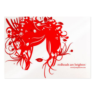 Redheads Are Brighter Business Card