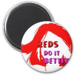 Redheads do it better fridge magnet