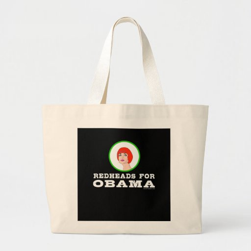 Redheads for Obama Tote Bag
