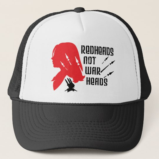 Redheads Not Warheads Trucker Hat