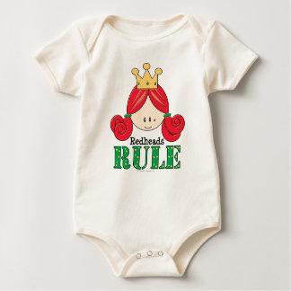 Redheads Rule Redhead Baby Baby Creeper