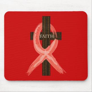 RedHeart Disease / AIDS / HIV Ribbon Mouse Pad