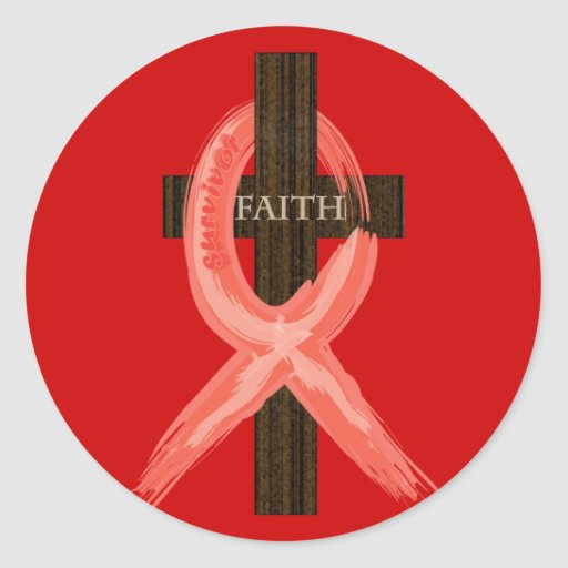 RedHeart Disease / AIDS / HIV Ribbon Sticker