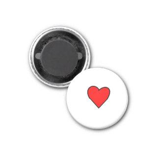 redheart imán redondo 3 cm
