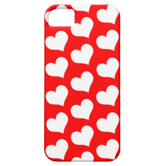 RedHearts iPhone 5 Funda