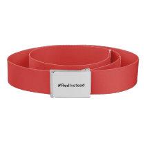 #RedInstead Belt