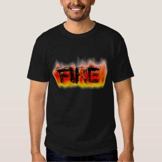 Redish Fire T Shirt