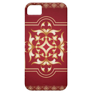 Redish Wine Gold Art iPhone 5 Cover