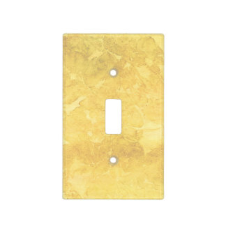 Redish Yellow Watercolor Look Light Switch Cover