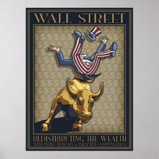 Redistribución pt1 de Wall Street Póster