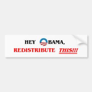 Redistribute THIS!! Bumper Sticker
