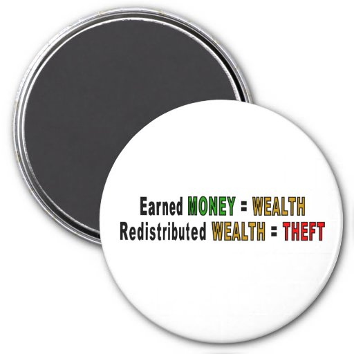 Redistributed Wealth magnets