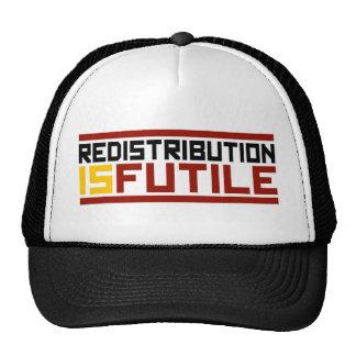 Redistribution is Futile Trucker Hat