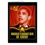 Redistributor In Chief Greeting Cards
