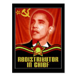 Redistributor In Chief Post Card