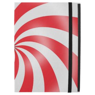 Redl & White Swirl Pattern Design iPad Case