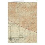 Redlands quadrangle showing San Andreas Rift Card