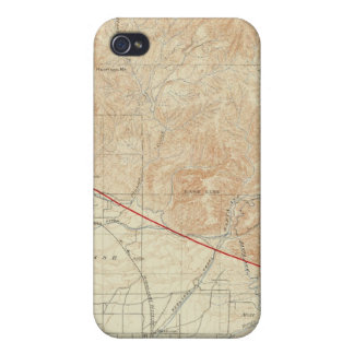 Redlands quadrangle showing San Andreas Rift iPhone 4/4S Covers