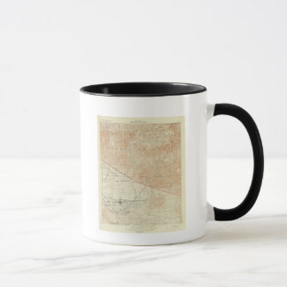 Redlands quadrangle showing San Andreas Rift Mug