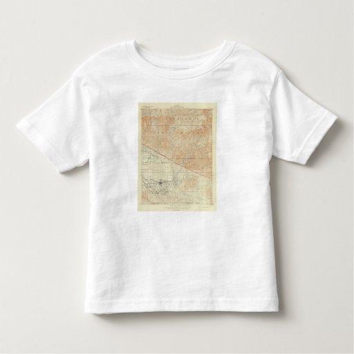Redlands quadrangle showing San Andreas Rift Toddler T-shirt