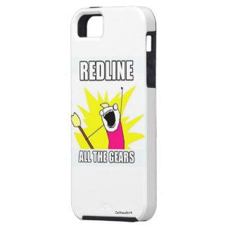 Redline all the Gears! - iPhone 5 iPhone SE/5/5s Case