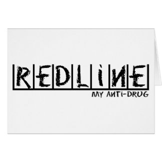 Redline Anti-Drug Card
