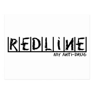 Redline Anti-Drug Postcard