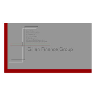 Redline Double-Sided Standard Business Cards (Pack Of 100)
