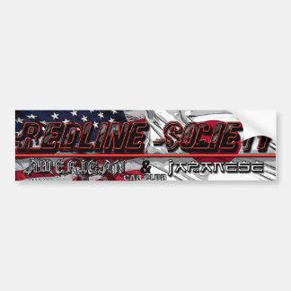 Redline Society Bumper/Window Sticker