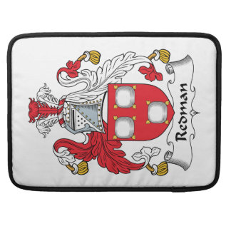 Redman Family Crest Sleeves For MacBook Pro