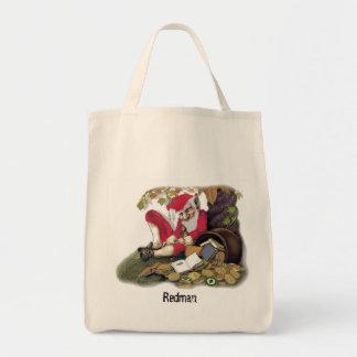 Redman, folclore irlandés bolsa tela para la compra