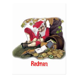 Redman, folclore irlandés tarjetas postales