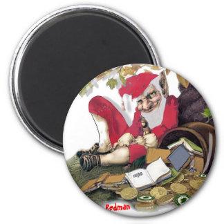 Redman, Irish Folklore Fridge Magnets